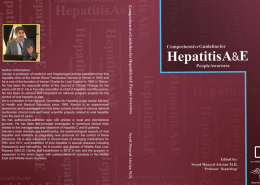 Cover Hepatitis A&E en